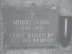 Mouni Sadhu Memorial